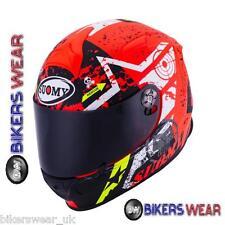 SUOMY SR SPORT STARS ORANGE Motorbike/Motorcycle Helmet
