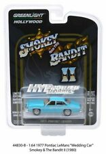 GREENLIGHT 1:64 SMOKEY & THE BANDIT II WEDDING CAR 1977 PONTIAC LEMANS 44830-B