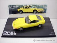 1/43 COCHE OPEL GT AMARILLO COLLECTION METAL MODEL CAR ALTAYA 1970 MINIATURE