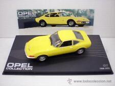 1/43 COCHE OPEL GT AMARILLO COLLECTION METAL MODEL CAR ALTAYA 1970 MINIATURE