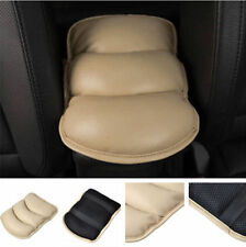 Car Armrest Arm Rest Center Console Top Mat Liner Cover Cushion Support Beige
