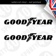 Goodyear Vinyl Decal Sticker Tyres Tires Racing. F1 Moto GP Le Mans 7205-0119