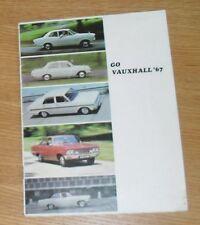 * Vauxhall brochure 1967 Viva Victor 101 VX4/90 Cresta Vicomte *