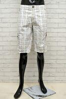 Bermuda AVANTI Uomo Taglia 36 Pantaloncino Shorts Pantalone Pants Man a Quadri