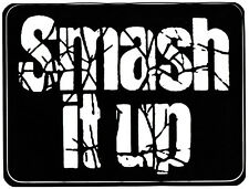 Captain Sensible Vinilo Sticker Smash It Up The Damned punk rock británica 1977