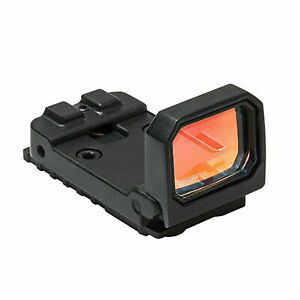 3 MOA Leuchtpunktvisier 1X holographisches Jagdvisier Red Dot Reflexvisier