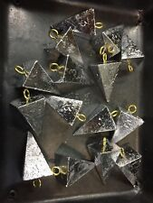 Lead Pyramid Sinkers 5 Lbs 1-2-3-4-5-6-8-10 Oz Any Combination Of Sizes