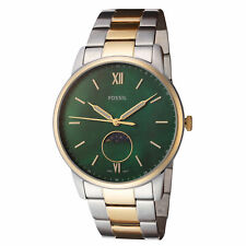 Fossil Men's The Minimalist FS5572 42mm Green MOP Dial Stainless Steel Watch