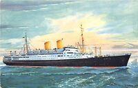 Bg32989 norddeutscher lloyd bremen ms berlin postcard  germany ship bateaux