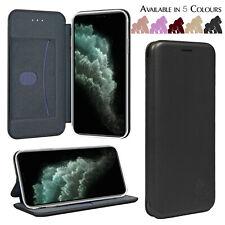 Funda Para IPHONE 11 6 7 8 5Plus XR XS Max Real Piel Auténtica Cartera Plegable