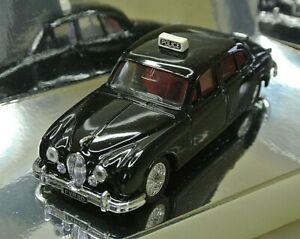 Corgi Classic Cars Collectors C706/1 Jaguar 3.4 Litre Mark 2 Black Police Car (2