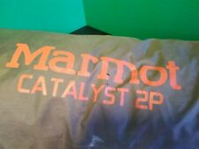 MARMOT CATALYST 2 P 3 SEASON TENT BACKPACKING with Ground Cover & Full Rain Fly
