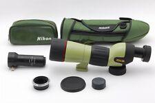 【AB- Exc】Nikon FIELDSCOPE ED60 III D=60 P w/Eyepiece 40x W DS 800mm f/13.3 #3120