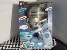 ROBBIE THE ROBOT WITH REMOTE CONTROL   HE WALKS, HE TALKS NEW OLD STOCK BOXED