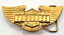 Vintage 1976 Cherokee Pilot Limited Edition #725 Made USA Belt Buckle FREE SHIP