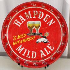 Hampden Mild Ale •'Smild But Sturdy!• Beer Tray Willimansett, Massachusetts Mass