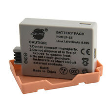 DSTE LP-E5 Full Decoded Digital Battery for Canon EOS 450D 500D 1000D Camera