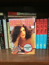 New listing Miss America by Howard Stern signed First Edition