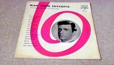 TONY CROMBIE MAN FROM INTERPOL OST 1st UK EMBER LP 1960 Spy Jazz Richard Wyler