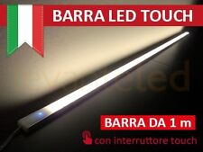 Barra Led Touch Luce Calda in Alluminio di 1Mt, chip SAMSUNG  Salone, no neon