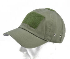 "Cappello / Cap ""Tactical"" Olive with VELCRO® brand hook"
