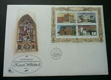 South Africa Architecture Of Luderitz 1981 Windows Art (miniature FDC)