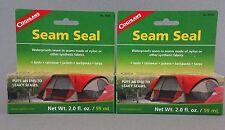 TWO Tubes Coghlan's Seam Seal tube 2 fl oz (you get 4 ounces) Sealer 8040