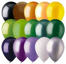 """48- 12"""" Solid Latex Balloons Halloween Inspired Color Palette Fall Autumn Spooky"""