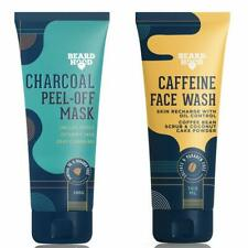 Caffeine Face Wash Cleanser 100ml & Charcoal Peel Off Face Mask 100g @US