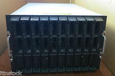 Fujitsu PRIMERGY BX600 w/ 10 x BX620 S4 Blade Servers 20 x QUAD Core XEON 160GB