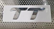 US SELLER Audi TT Emblem Trunk Logo Badge DECAL STICKER LETTER NUMBER SILVER AUD