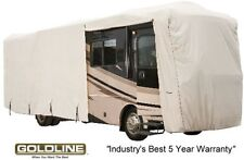 Goldline Class A RV Trailer Cover 20 to 22 foot Grey