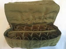 EAGLE INDUSTRIES SHOTGUN SHELL POUCH 24 ROUNDS MOLLE KHAKI MLCS NAVY SEAL