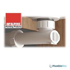 "McAlpine 1-1/4"" 32mm Basin & Urinal Space Saving Waterless Waste Trap WHB-1"