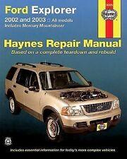 Ford Explorer 2002 thru 2003 (Haynes Repair Manual)