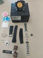 Samsung Galaxy Watch SM-R800 46mm Silver Smartwatch Bluetooth WiFi **EXTRAS**