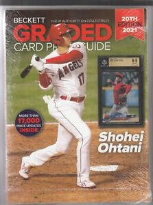 Beckett Graded Price Guide 20th Edition 2021 with Shohei Ohtani on Cover