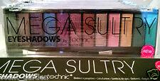 Technic MEGA SULTRY 12 Shade Eyeshadow Palette ❤ Purple Green Brown Blue Beige ❤