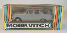 URSS USSR 1/43 Moskvitch 426 con tetto trave BAGAGLI GRIGIO OVP #260