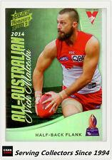 2015 Select AFL Honours S2 All Australia Team Card AA4 Nick Malceski (Sydney)