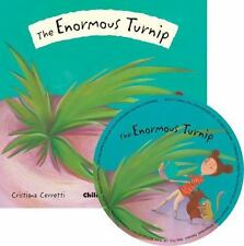 Flip-Up Fairy Tales: The Enormous Turnip (2011, CD / Mixed Media)