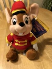 New listing Vtg Nwt Disney 1998 Timothy Mouse Beanie Plush Toy - Dumbo Open House Exclusive