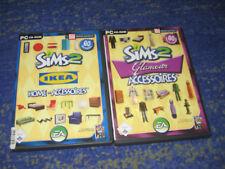 Die Sims 2: Ikea Accessoires PC und mehr Glamour Accessoires