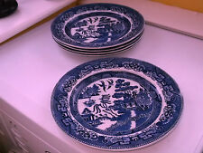 British Royal Doulton Pottery Dinner Plates