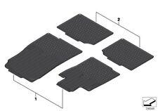 4 Pc OEM Mini Cooper Countryman Paceman Rubber Floor Mat Set Mini Wings Logo R60