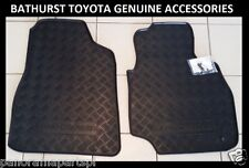 Toyota Landcruiser 100 Series Front Rubber Floor Mats GXL SAHARA RV GENUINE NEW
