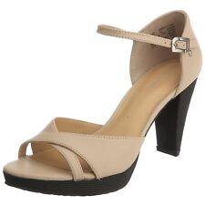 Rockport Audry Chaussures Femme 41 Sandales Strap Escarpins Espadrilles UK7 Neuf