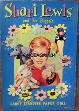 Vintage Uncut 1960 Shari Lewis Paper Dolls~#1 Reproduction~Choice Of Cover~Rare