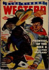 BLUE RIBBON WESTERN (JUNE/1944) LYNN WESTLAND, BLISS LOMAX