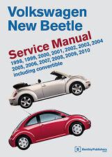 BENTLEY WORKSHOP SERVICE REPAIR MANUAL BOOK VOLKSWAGEN NEW BEETLE 1998-2010